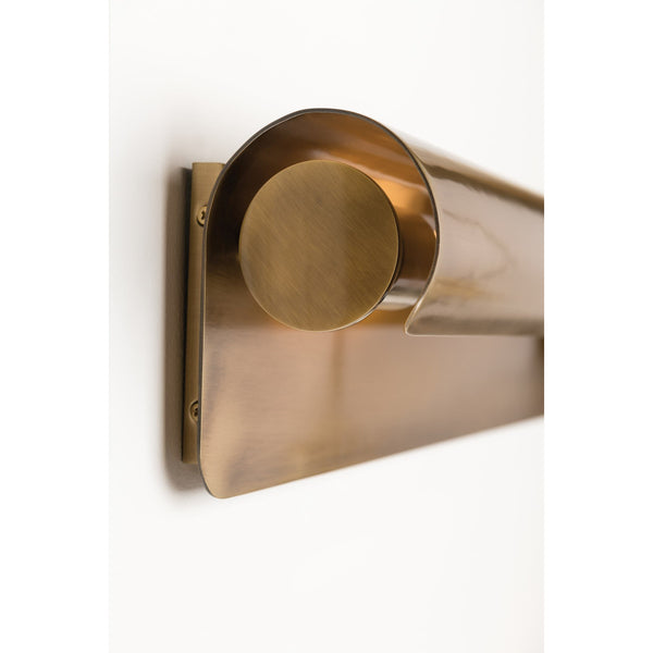Accord Wall Sconce | Aged Brass
