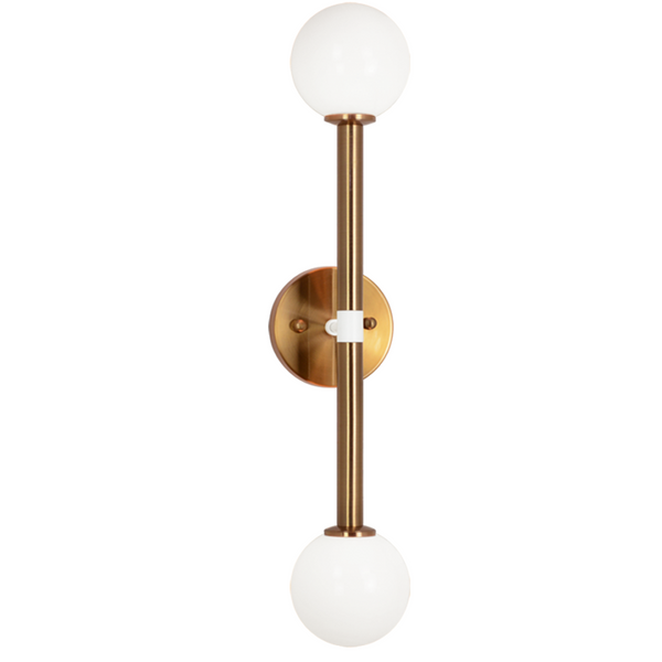 "Stellar 2-Light 24"" Wall Sconce 