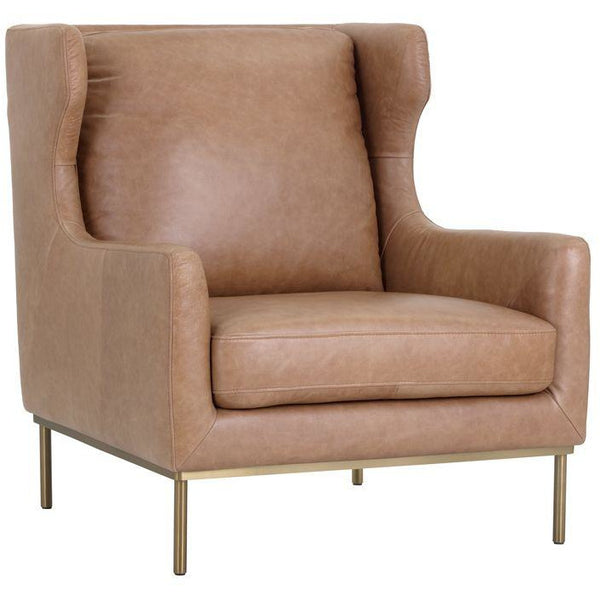 Vicki lounge chair  | Marseille Camel
