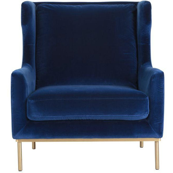 Vicki lounge chair  | Evening Navy