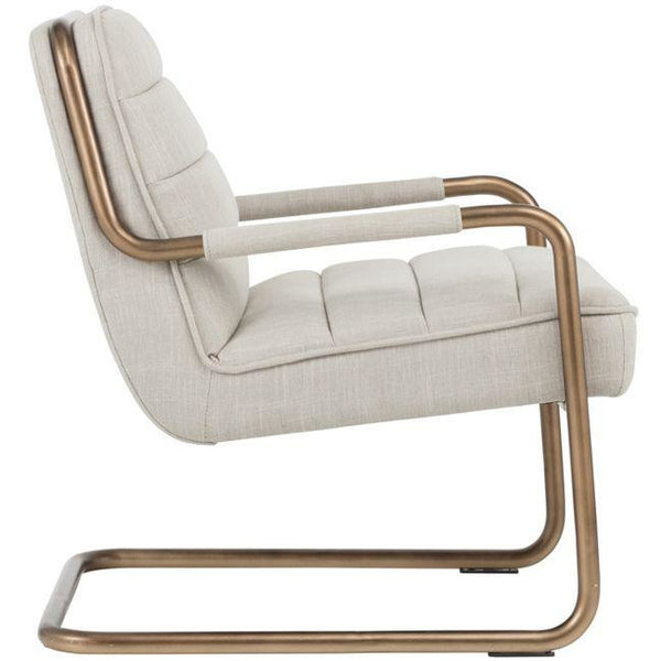 London Armchair  | Beige Linen
