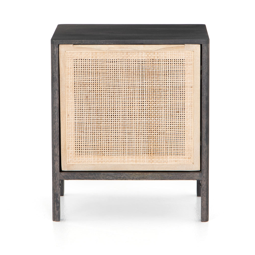 Shale Nightstand | Black Wash