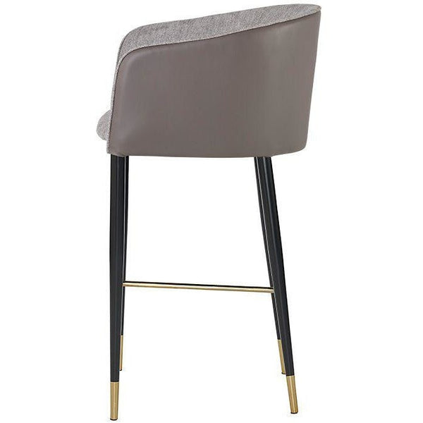 Ashton Bar/Counter Stool | Grey/Taupe