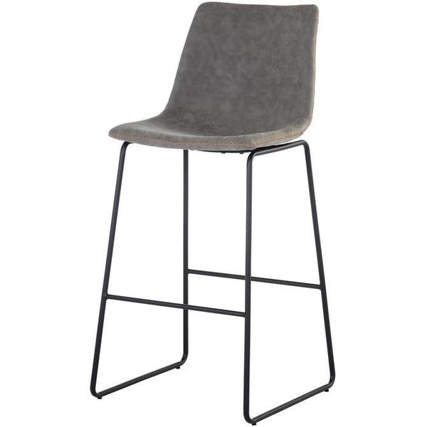 Caldwell Bar/Counter Stool | Antique Grey (Set of 2)