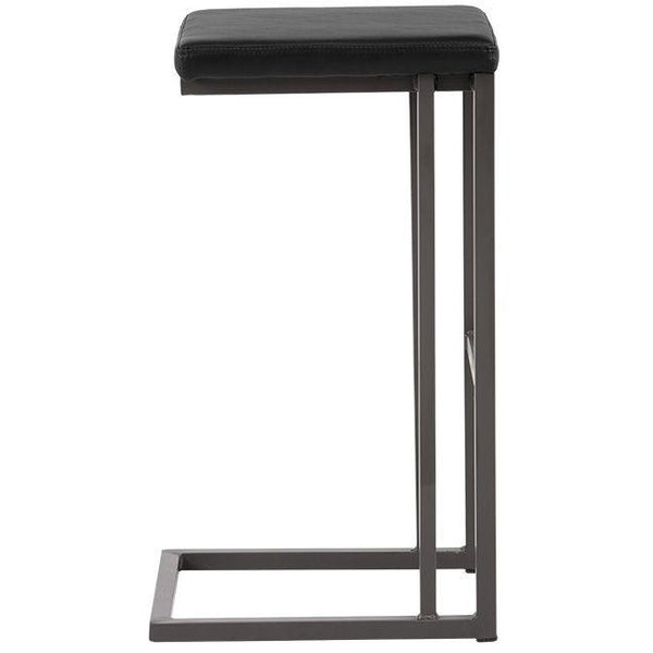 Boomer Bar/Counter Stool | Grey/Onyx (Set of 2)