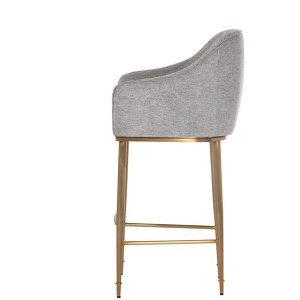 Bowen Bar/Counter Stool | Flint Grey