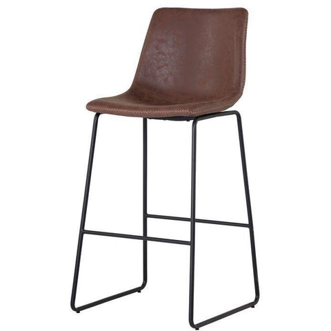 Caldwell Bar/Counter Stool | Antique Brown