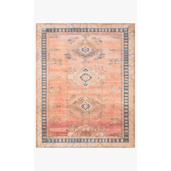 Deven Rug 01 | Sunset/Indigo