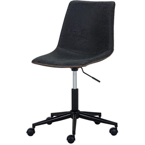 Cali Office Chair | Antique Black
