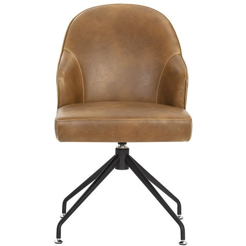 Brianne Office Chair | Tabacco Tan