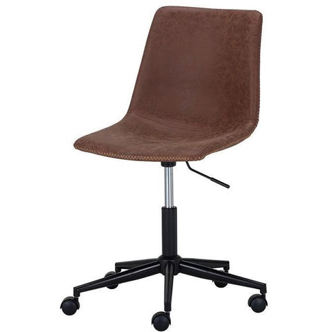 Cali Office Chair | Antique Brown