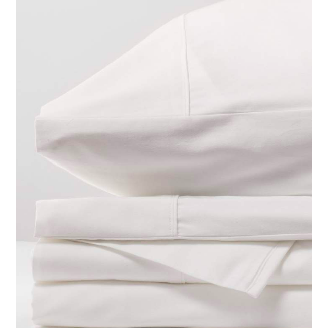Luxury Organic Bed Sheets | White Sand