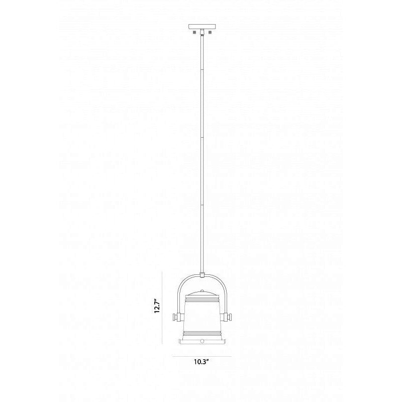 "Secchio 10.3"" Pendant 