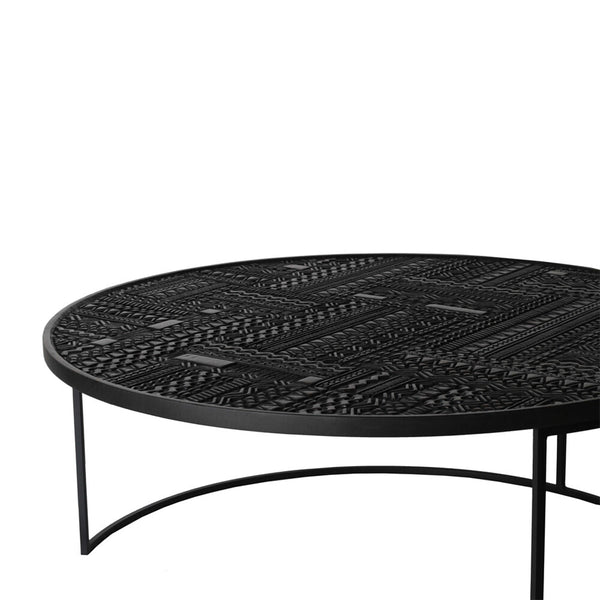 Tabwa Round Nesting Coffee Table Set