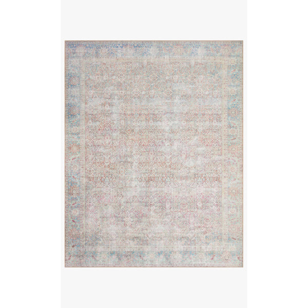 Wynter Rug 04 | Red/Teal