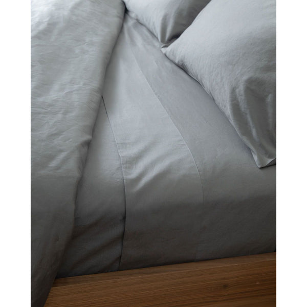Luxury Organic Duvet Cover | Charcoal Grey