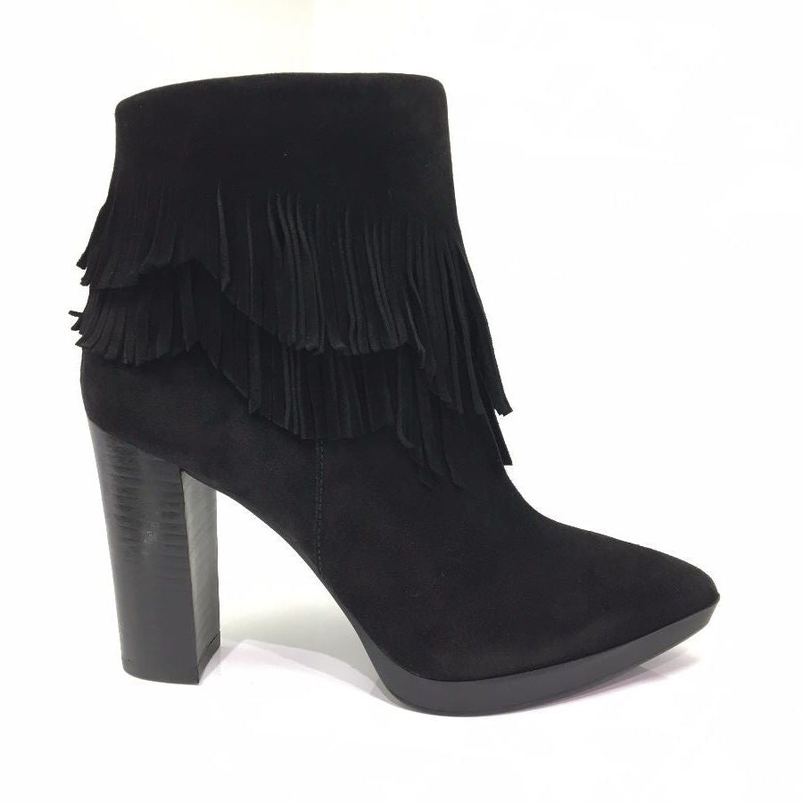 Lodi Black High Heel Boot