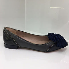 Lodi Grey Flat Shoe
