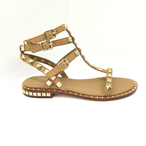 ASH rock stud sandals, summer style inspiration