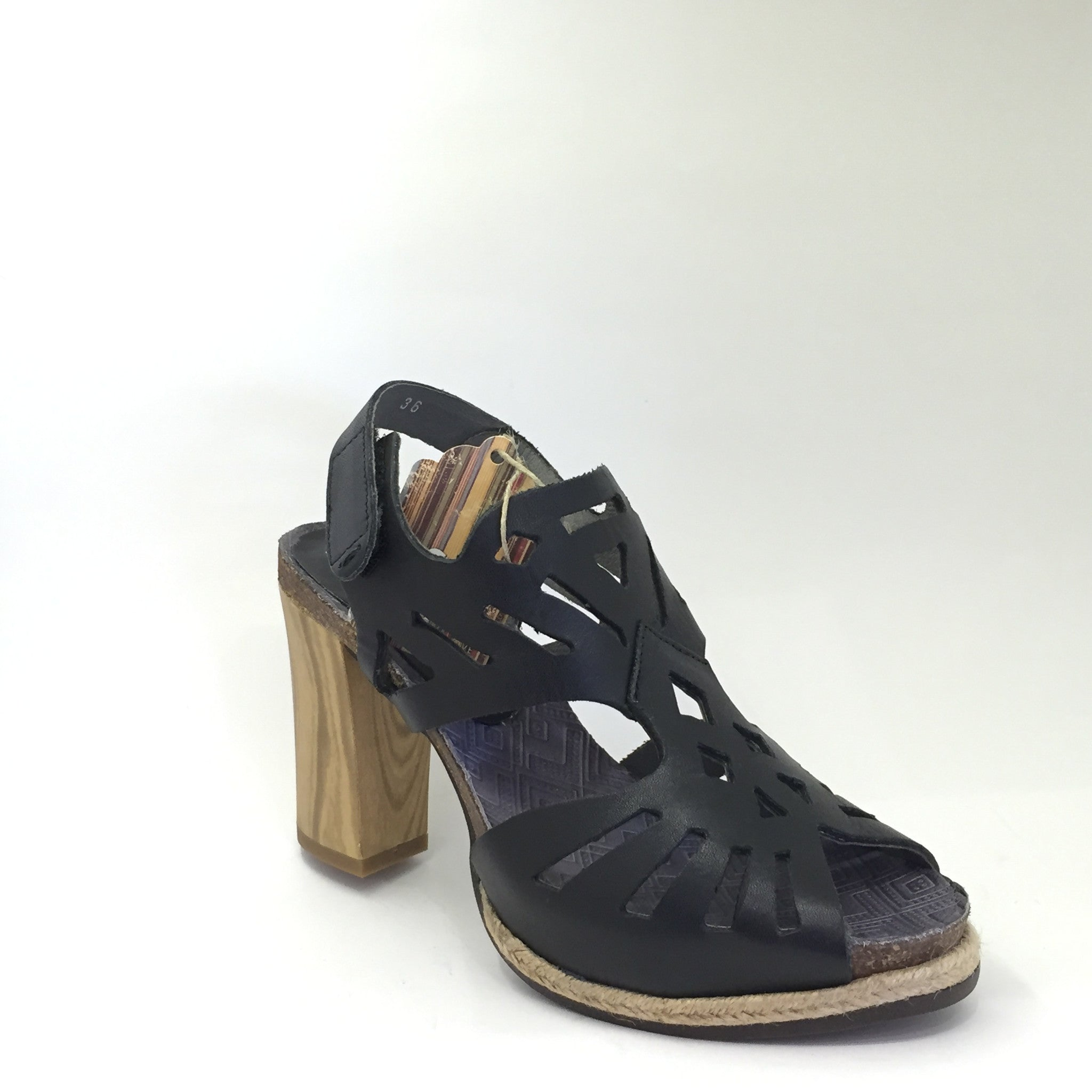 Felmini Black Sandal