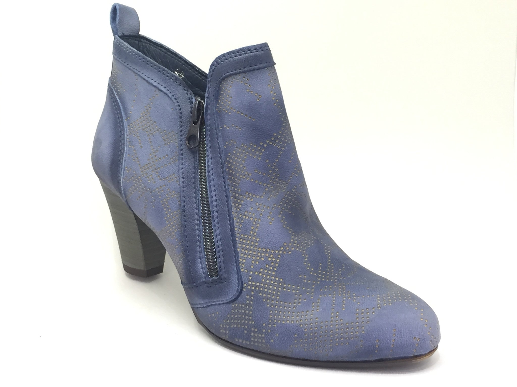 Felmini Ink Blue Ankle Boot