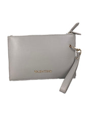 Valentino Grey Double Clutch Bag