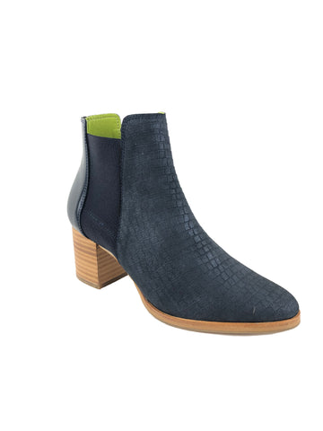 Eureka Navy Ankle Boots