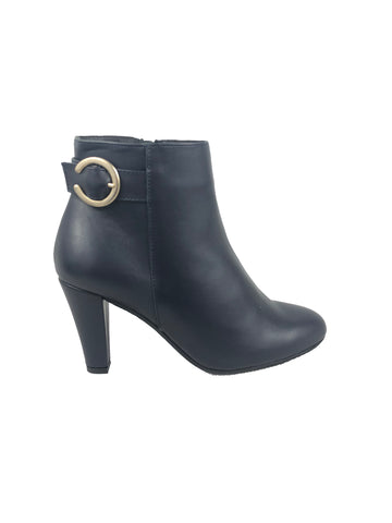 Aerobics Navy Ankle Boots
