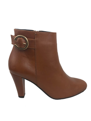 Aerobics Tan Ankle boots
