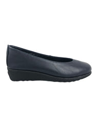 Aerobics Navy Wedge Pump