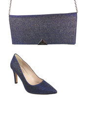 Lodi Blue/Navy Glitter Courts