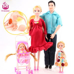 Doll Family 5/pcs