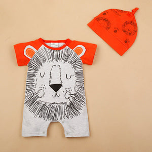 Romper Animal & Hat