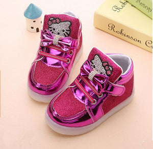 Hello Kitty LED Light Up Shoes