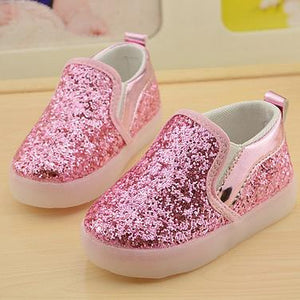 Glitter LED Light Up Sneakers