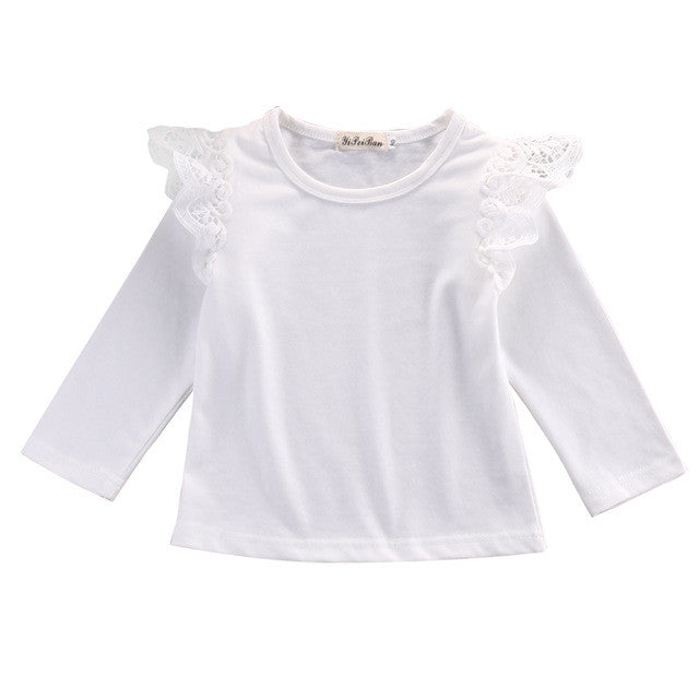 Shirt Lace Shoulder