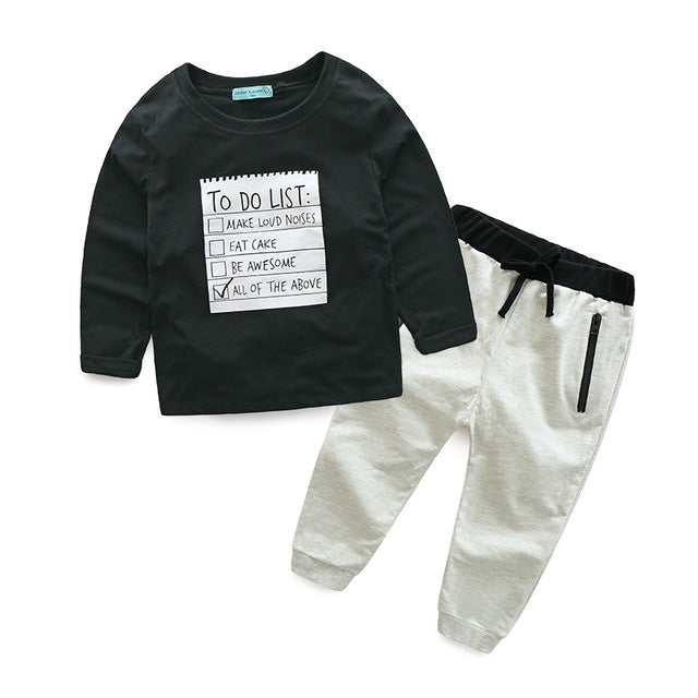 Set Pants & T-Shirt