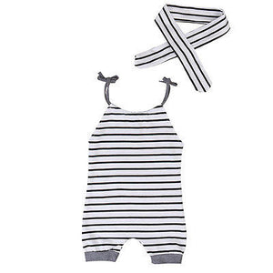 Romper Striped
