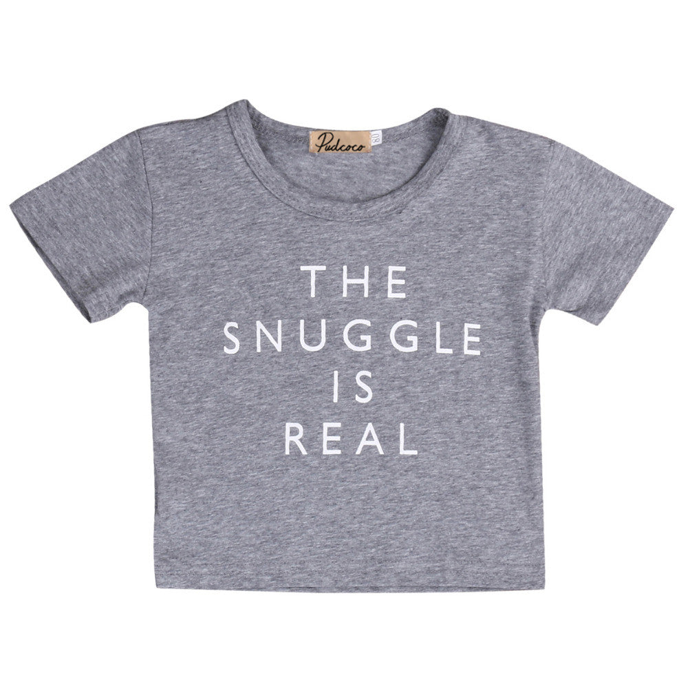 T-Shirt The Snuggle Is Real