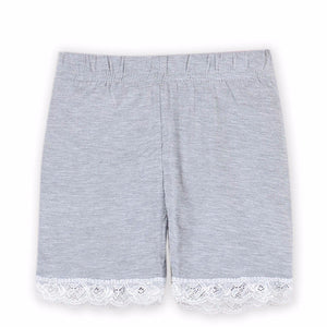 Shorts With Lace