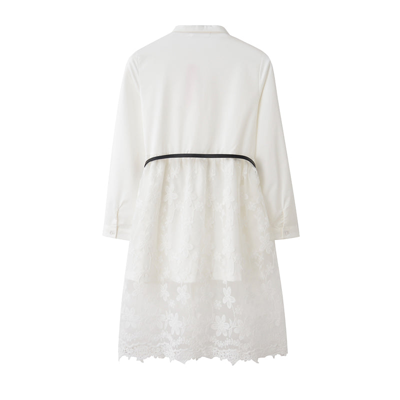 Dress White Lace