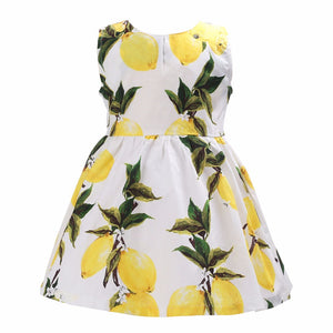 Dress Lemon & Flowers