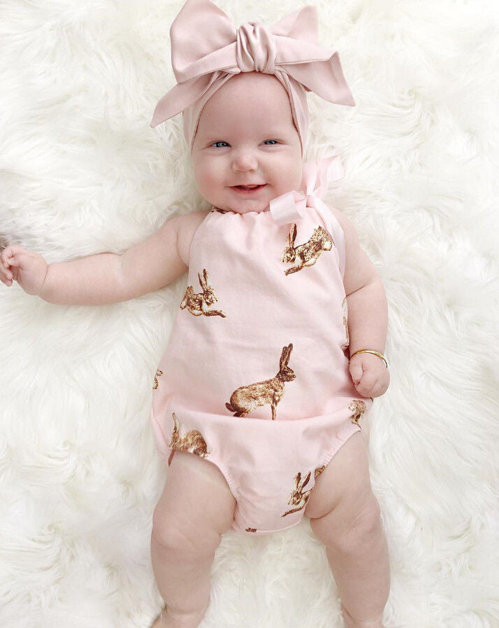 Romper Rabbit & Headband
