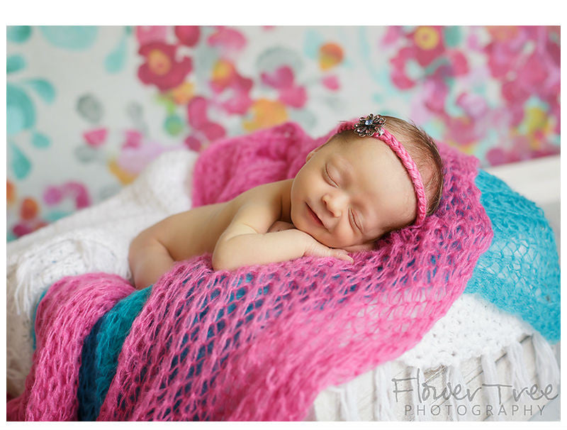 Baby Photo Shoot Wheat Donut With Pillows