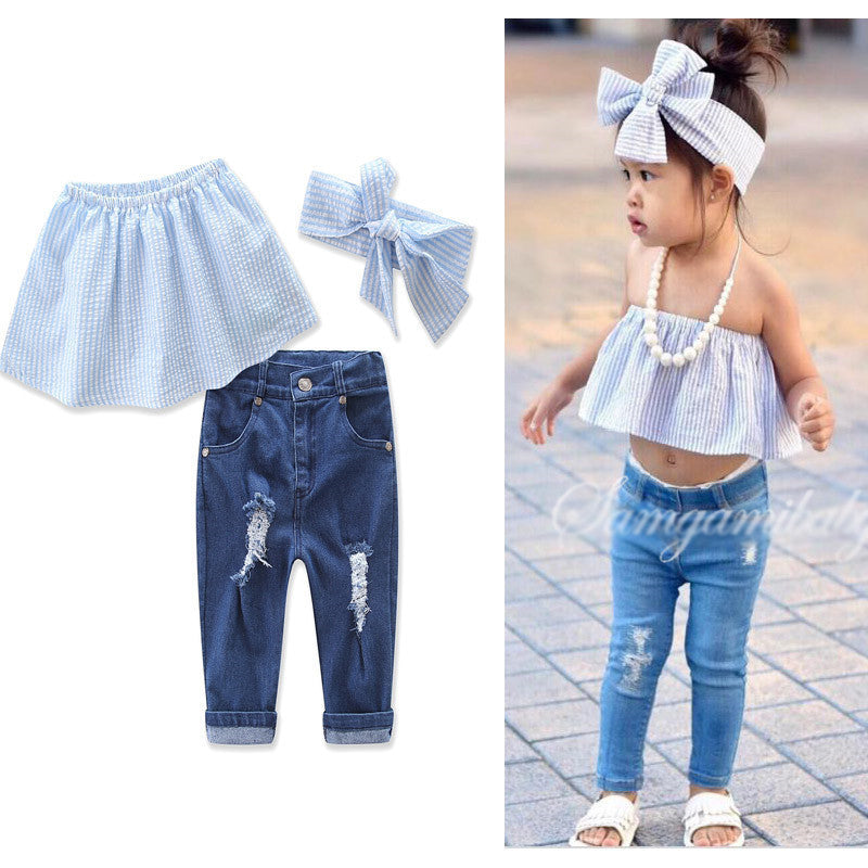 Set Cute Jeans & Top