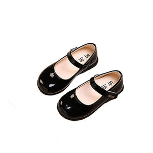 School Shoes Round Toe Simple Hook&Loop