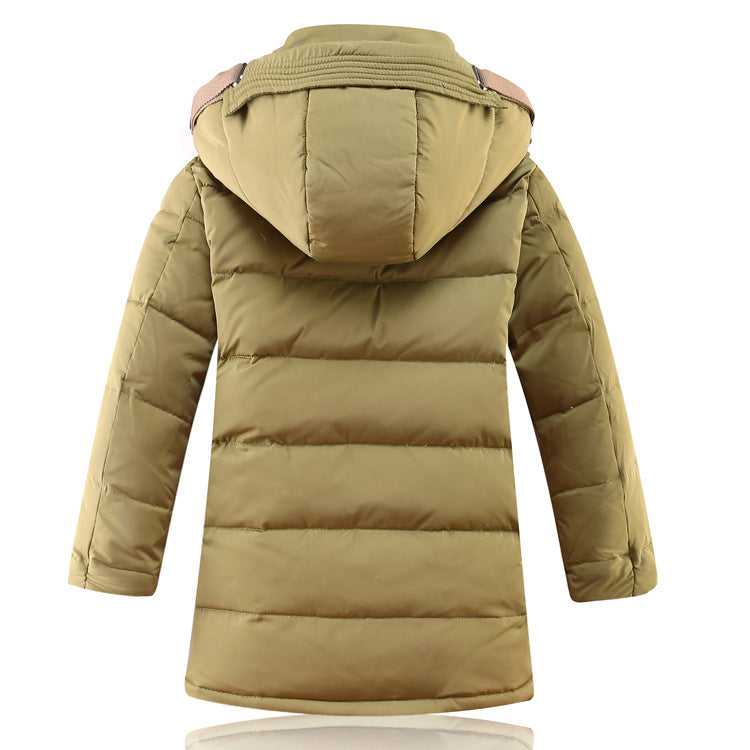 Children's Winter Jacket Duck Down -30 Degrees