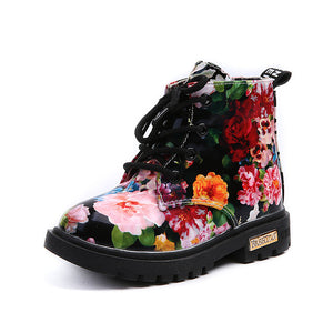 Floral Girls Boot