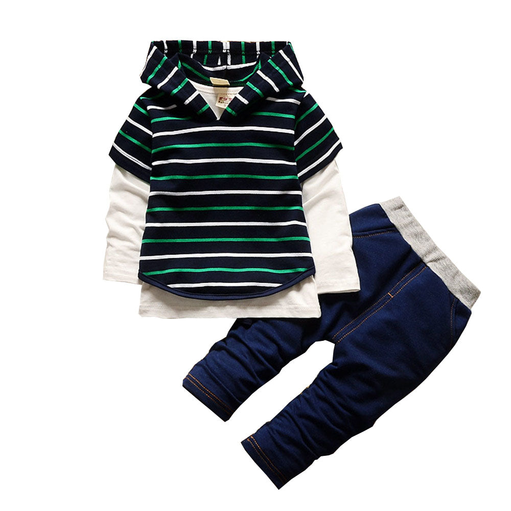 Set Jeans & Shirt Striped
