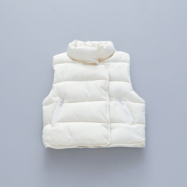 Cotton Down Vest